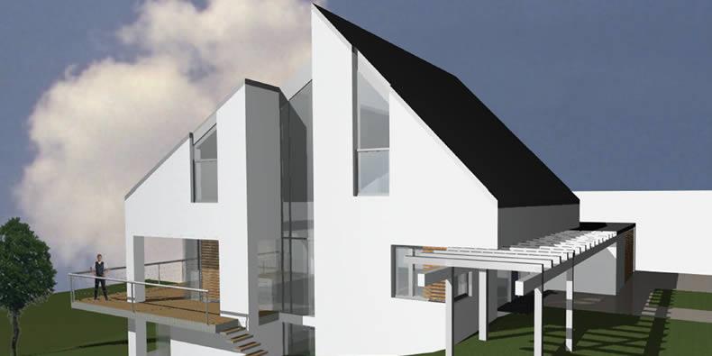 neubau einfamilienwohnhaus erlangen plankoepfe nuernberg architekturb ro. Black Bedroom Furniture Sets. Home Design Ideas